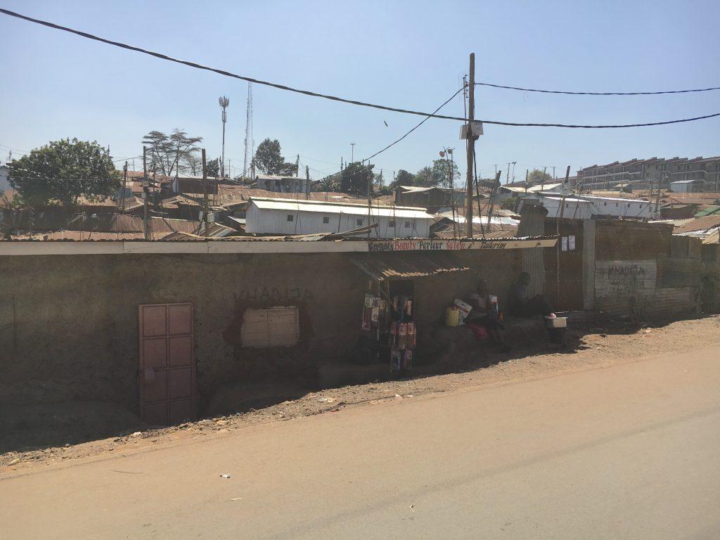 The Kibera Slums of Nairobi, Kenya